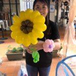 Balloon Sunflower Sculpture