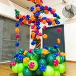 Customised Balloon Tree with Flowers