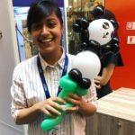 Panda Balloon Sculpture