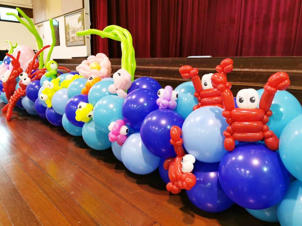 Sea Creatures Balloon Sculptures