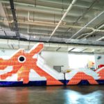 Singapore Dragon Playground inflatable obstacle course