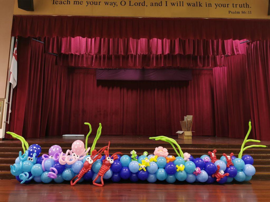 Under the Sea Balloon Decorations