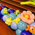 Underwater Balloon Decorations