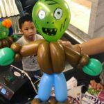 Zombie Balloon Sculpture