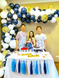 Organic Balloon Decor for birthday party