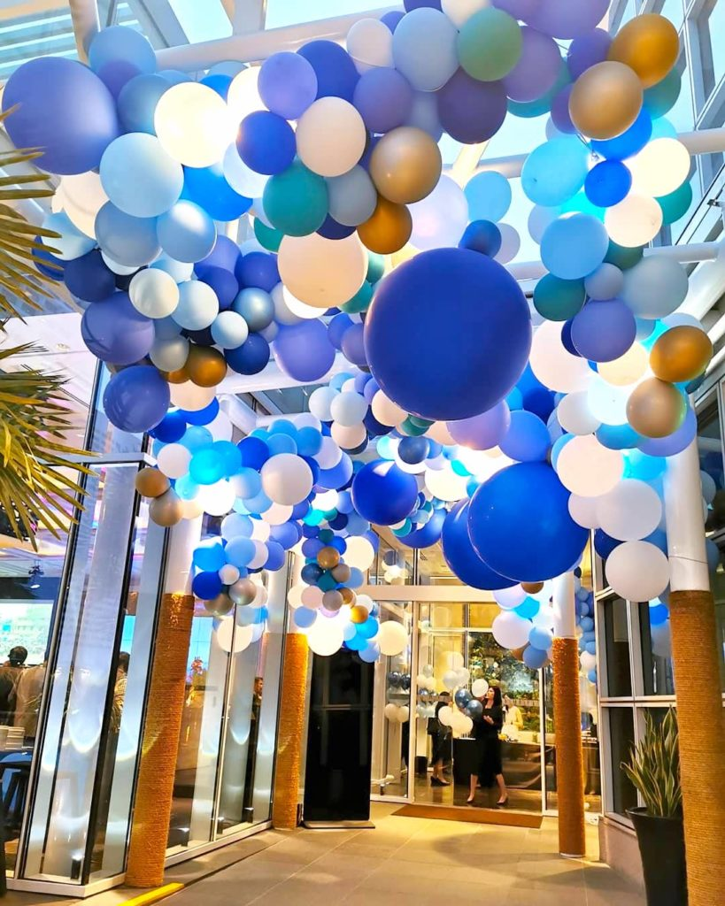 Organic Balloons Decor