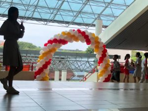 Balloon Arch for School Event
