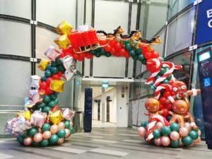 Balloon Christmas Arch Singapore