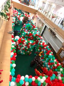 Balloon Decorations for West Coast Plaza