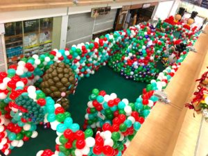 Balloon Landscape Decorations for mall
