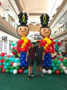 Balloon Nutcracker Sculpture
