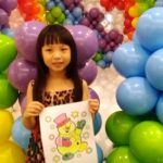 Balloon and Colouring Activity