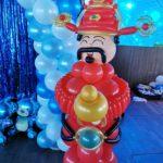 Cai Shen Ye Balloon Sculpture