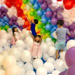 Clouds and Rainbow Balloon Pit
