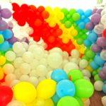 Hire Rainbow Balloon Pit