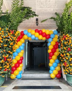 Rectangle Balloon Arch Singapore