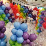 Small Rainbow Balloon Pit 1