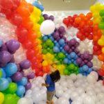 Small Rainbow Balloon Pit Rental