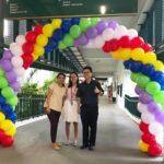 Spiral Rainbow Arch Singapore