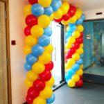 Square Balloon Entrance Arch
