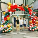 Xmas Balloon Arch Singapore