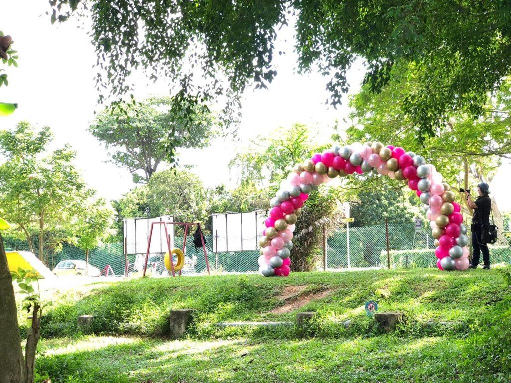 Balloon Arch Decoration Singapore