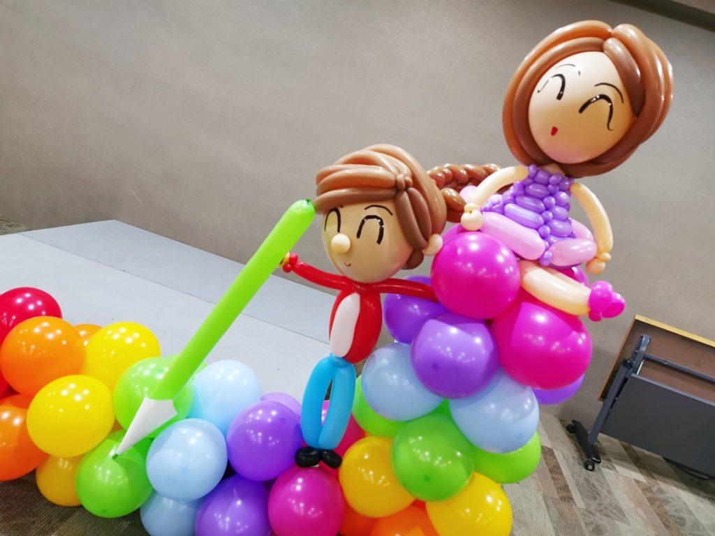 Balloon Kids Sculptures