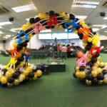 Balloon Music Theme Arch Singapore
