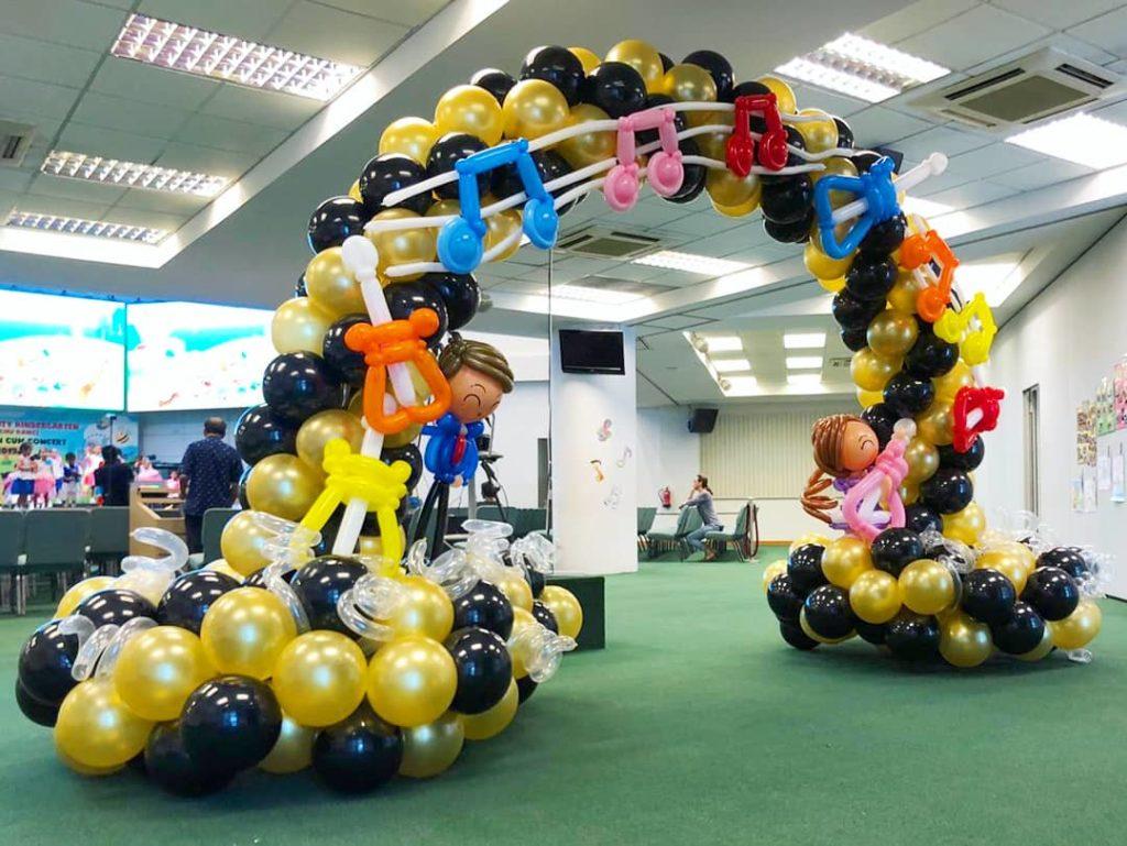 Balloon Musical Arch Singapore