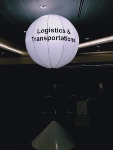 Lighted Balloon Stand for Rent
