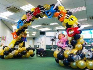 Musical Balloon Arch Singapore