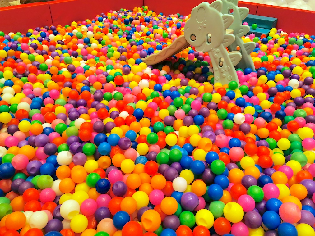Rainbow Ball Pit