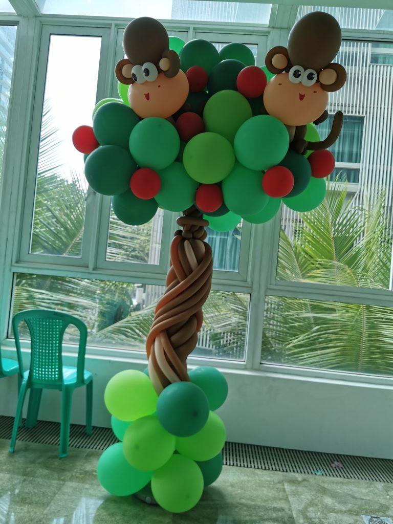 Balloon Column Decor