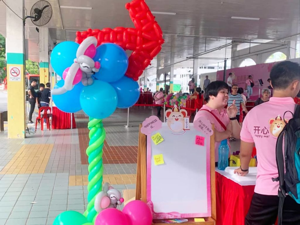 Balloon Stand Decor for Hire