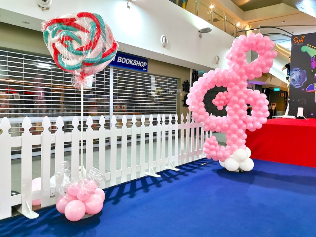 Colourful Musical Theme Balloon Decorations