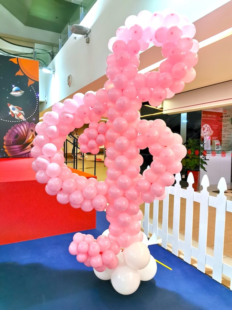 Musical Note Balloon Decoration