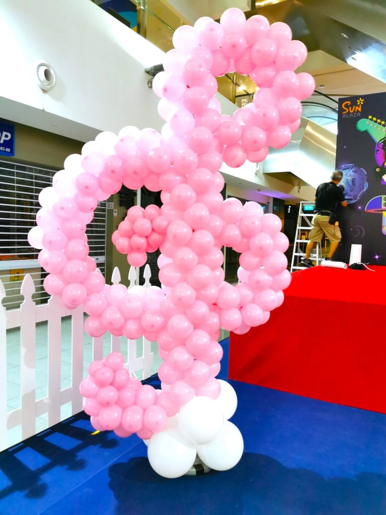 Musical Note Balloon Decoration Singapore