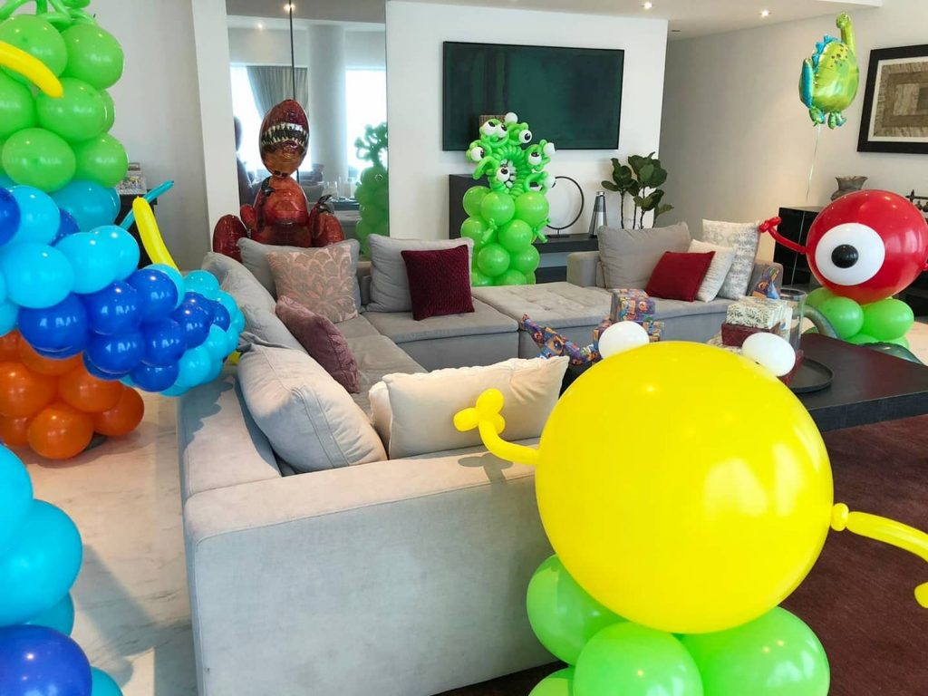 Balloon Decoration Service House Party