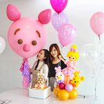 Piglet Big Floating Balloon Sculpture