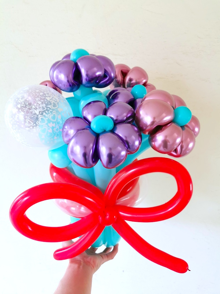 Flower Balloon Bouquet Delivery Singapore
