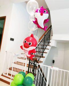 Baby Shark Balloon Decorations