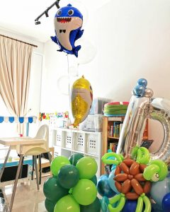 Baby Shark Helium Balloon Delivery