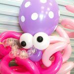 Balloon Octopus Sculpture Delivery