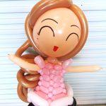 Balloon Princess Sculpture Delivery