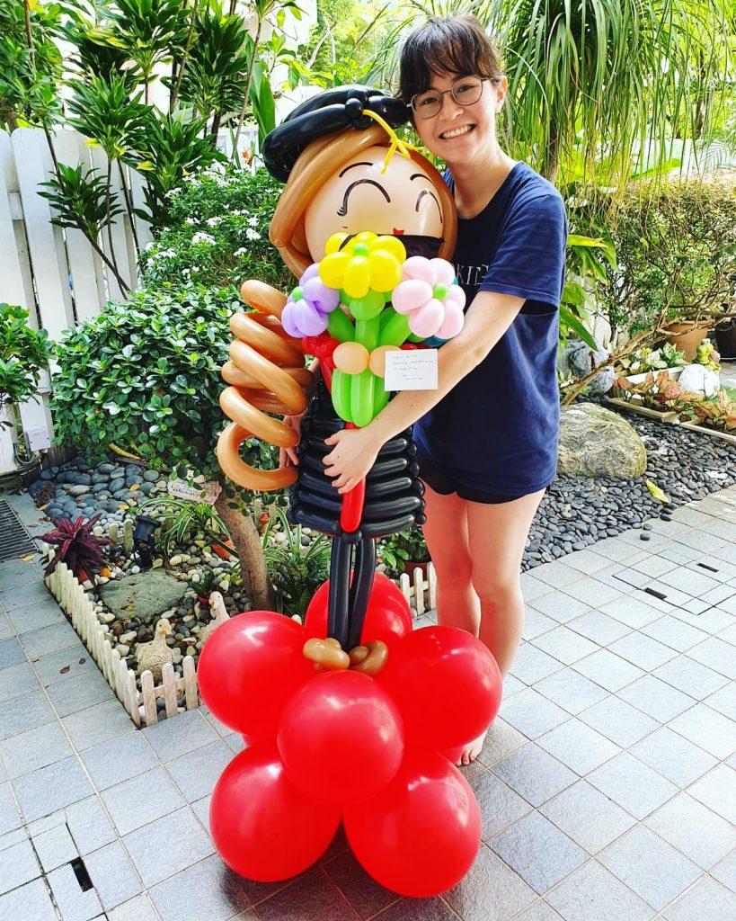 Graduation Balloon Delivery Singapore