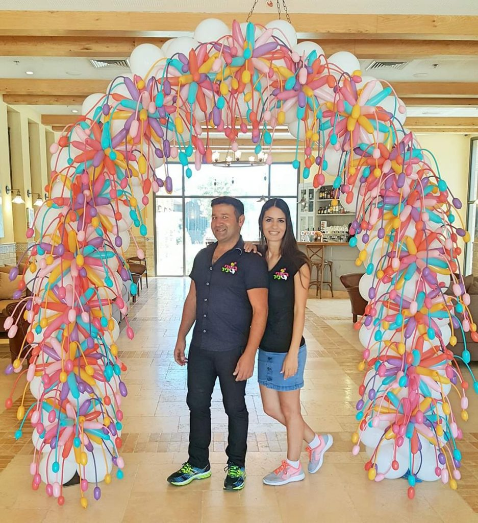 Fire works Balloon Arch Decorations