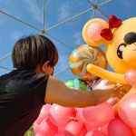 Giant Balloon Bear Sculpture