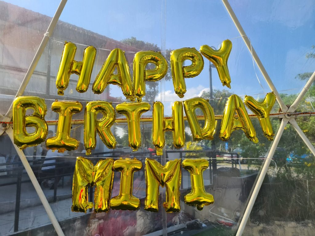 Happy Birthday Foil Balloon Letters 1