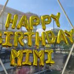 Happy Birthday Foil Balloon Letters