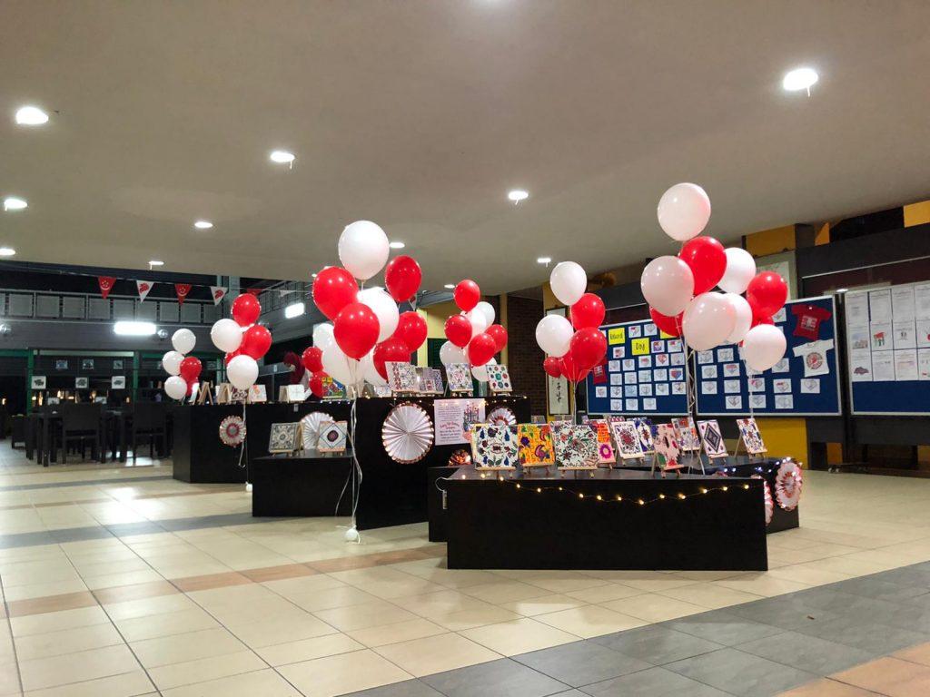 Helium Balloon Decor for School Singapore
